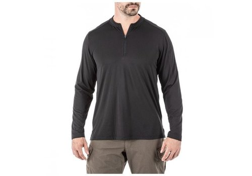 5.11 Tactical Catalyst 1/4 Zip Pullover - Black