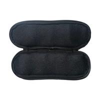 Horizontale Handboeien Pouch voor koppel- Black