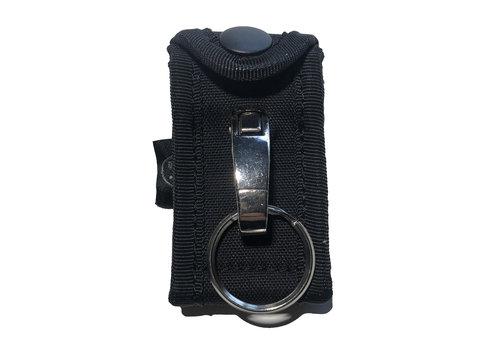 Dutch Tactical Gear Key Ring Holder w Metal Hook voor koppel - Black
