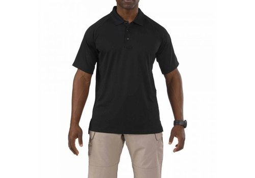 5.11 Tactical Performance Short Sleeve Polo - Black