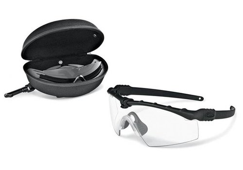 Oakley SI Ballistic M Frame 3.0 Black mit Array clear / grey Gläser