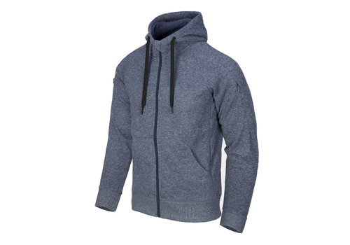 Helikon-Tex Covert Tactical Hoodie (FullZip) - Melange Blue