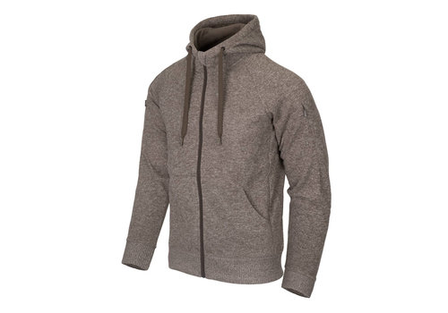 Helikon-Tex Covert Tactical Hoodie (FullZip) Melange Light Tan