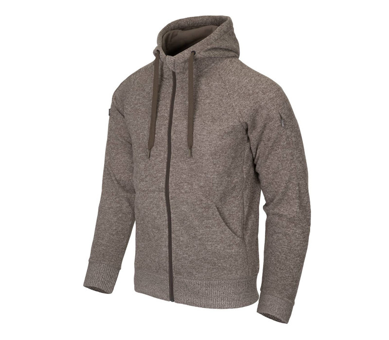 Covert Tactical Hoodie (FullZip) Melange LigHT-Tan