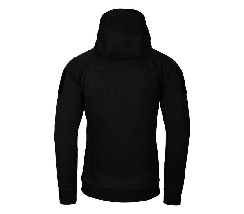 Urban Tactical Hoodie (FullZip) - Black