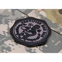 Man Bag PVC Patch