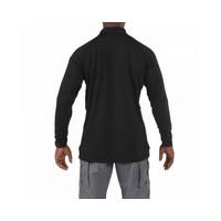 Performance Long Sleeve Polo - Black