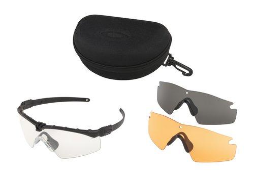 Oakley SI Ballistic M Frame 3.0 Black Array clear/ grey/ persimmon Gläser