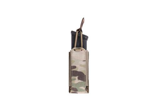 Warrior Laser Cut Single Bungee Pistol Pouch - Multicam