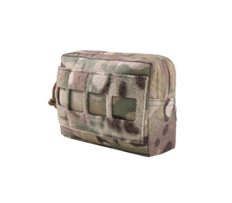 Laser Cut Small Horizontal Utility Pouch - MultiCam