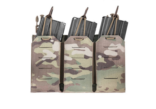 Warrior Laser Cut Detachable Triple Bungee 5.56 Panel - Multicam