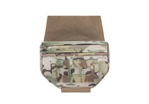 Warrior Laser Cut Drop Down Velcro Utility Pouch - MultiCam