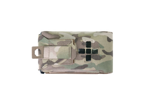 Warrior Laser Cut Small Horizontal Individual First Aid Kit Pouch - MultiCam