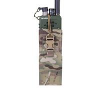 Laser Cut MBITR/Harris Radio Pouch  - Multicam