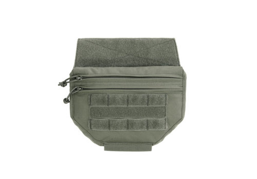 Warrior Drop Down Velcro Utility Pouch - Ranger Green