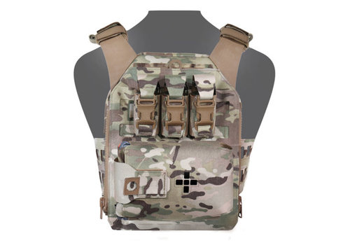 Warrior Laser Cut Assaulters Back Panel - Multicam
