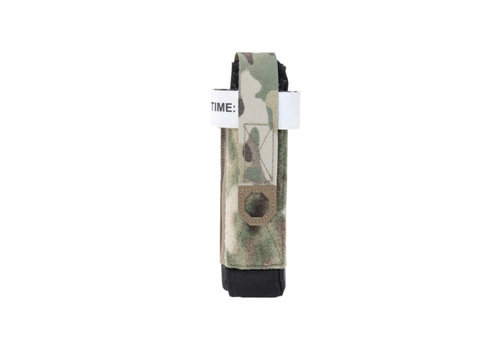 Warrior Laser Cut Elasticated C.A.T. Holder - Multicam