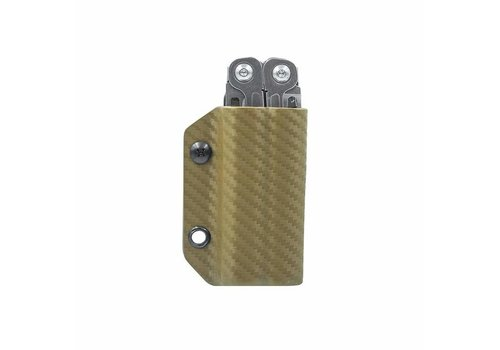 Clip & Carry Kydex Sheath for Wingman/Sidekick/Rev - Brown
