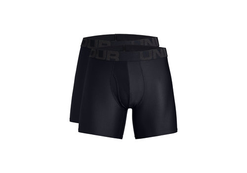 Under Armour Tech 15cm Boxerjock 2-Pack Black