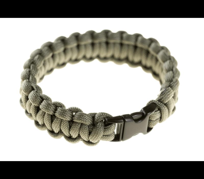 Paracord Armband - Grey