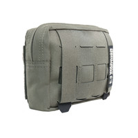Laser Cut Small Horizontal Utility Pouch - Ranger Green