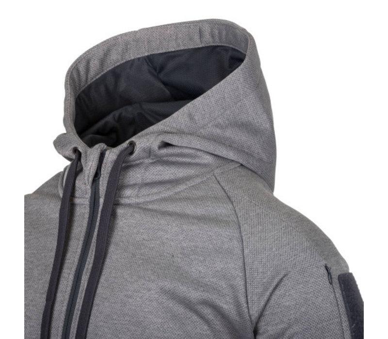 Urban Tactical Hoodie (FullZip) - Black / Grey