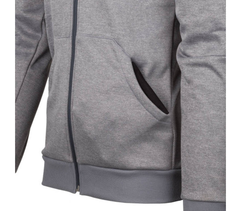 Urban Tactical Hoodie (FullZip) - Black / Grey