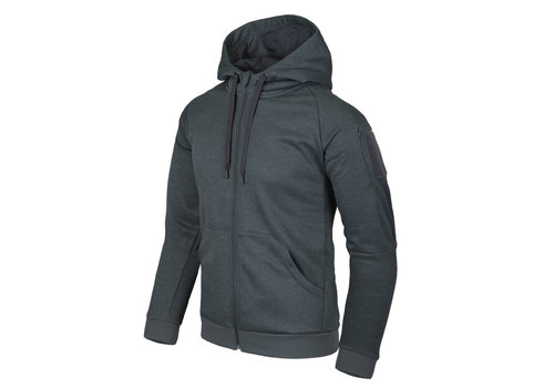 Helikon-Tex Urban Tactical Hoodie (FullZip) - Black / Grey