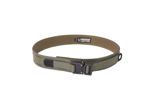 Warrior Laser Cut Fight Light Belt - Ranger Green