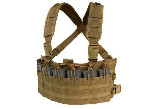 Condor MCR6 Rapid Assault Chest Rig - Coyote Tan