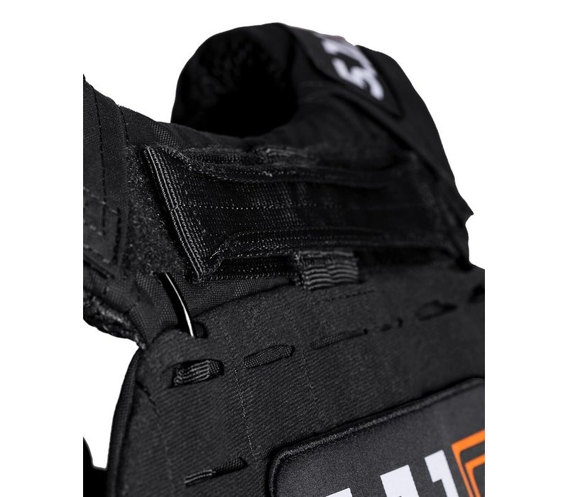 TacTec Plate Carrier Logo - Black
