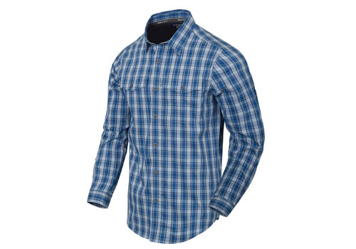 Helikon-Tex Covert Concealed Carry Shirt - Ozark Bleu Plaid