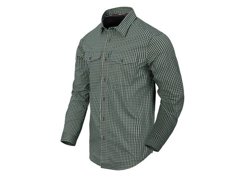 Helikon-Tex Covert Concealed Carry Shirt - Savage Green Checkerd