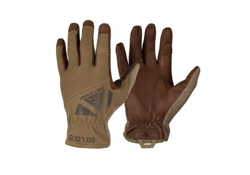 Direct Action Gear Light Gloves Leather - Coyote Brown