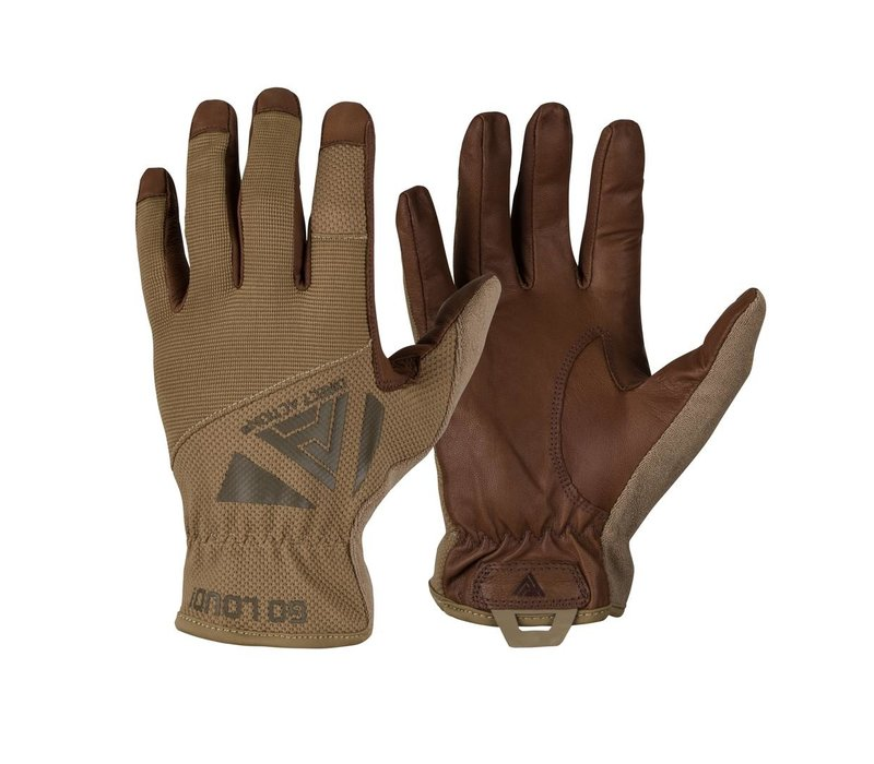 Light Gloves Leather - Coyote Brown