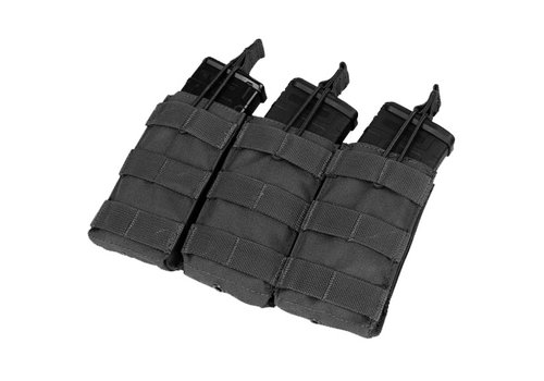 Condor MA27 Triple Open Top M4/M16 Mag Pouch - Black