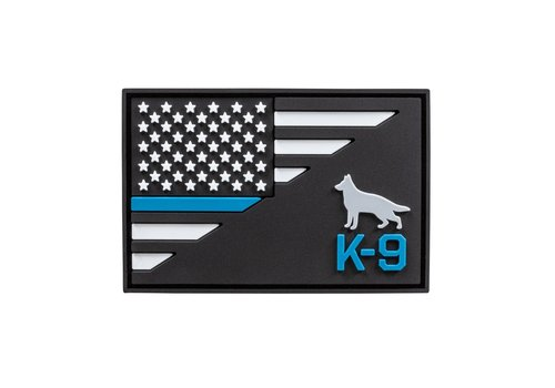 5.11 Tactical K-9 Thin Blue Line Patch