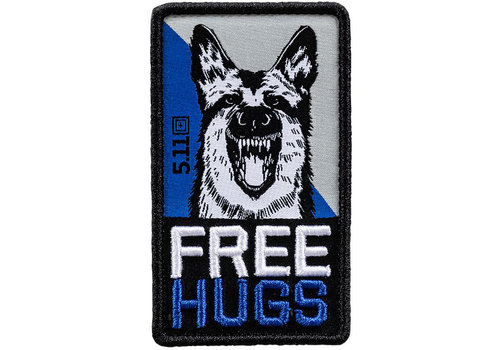 5.11 Tactical Free Hugs Patch - Blue