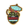 5.11 Tactical Happy Hour Patch - Red