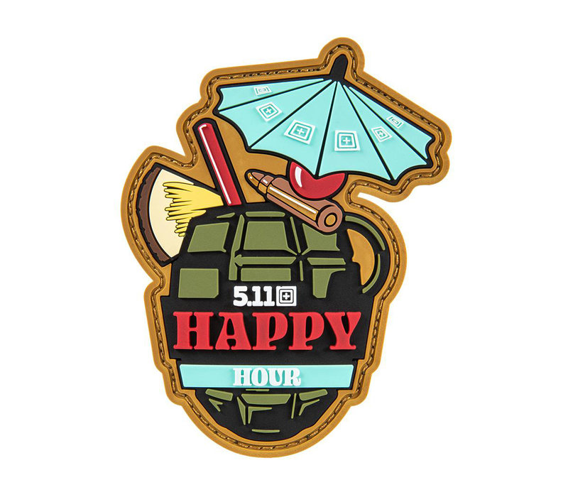 Happy Hour Patch - Red