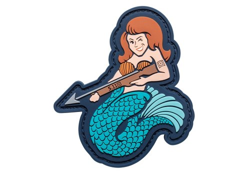 5.11 Tactical Mermaid Sniper Patch - Blue