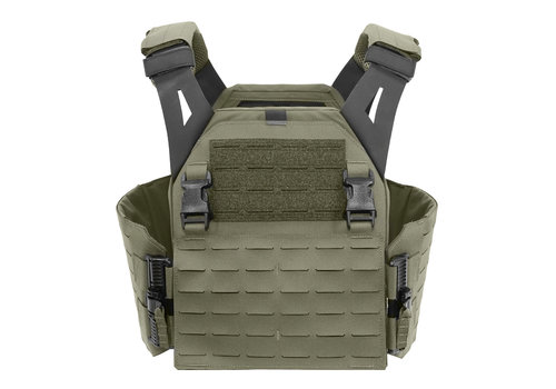 Warrior Laser Cut LPC Low Profile Carrier V1 Solid Sides - Ranger Green