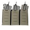 Warrior Laser Cut Detachable Triple Bungee 5.56 Panel - Ranger Green