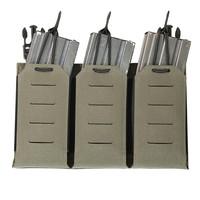 Laser Cut Detachable Triple Bungee 5.56 Panel - Ranger Green