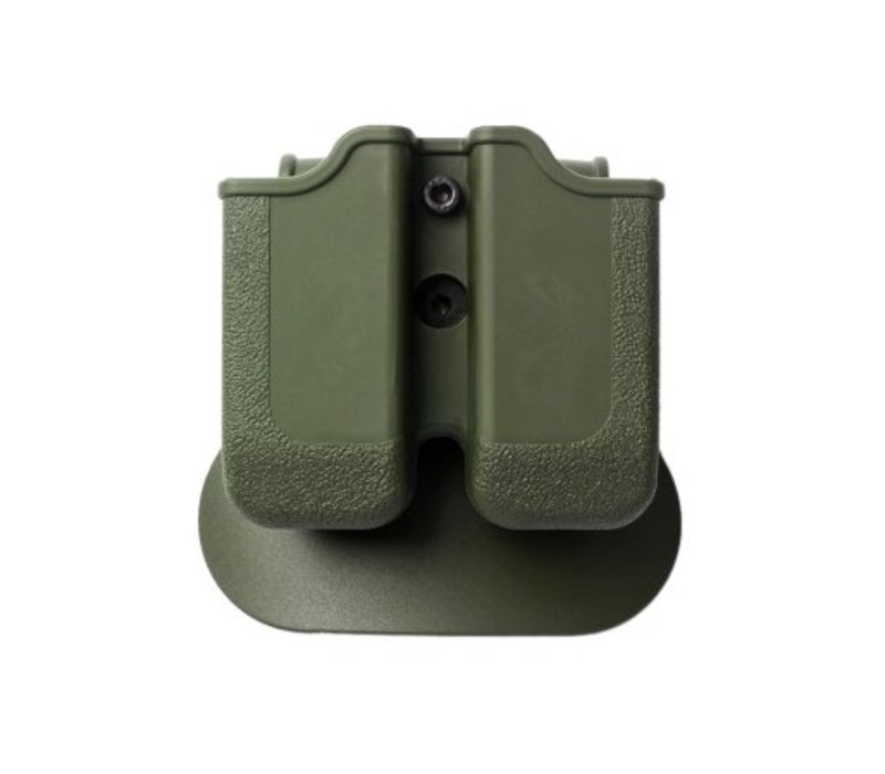 Z2000 Double Magazine Pouch for Glock 17/19/22/23/25 - Olive Drab