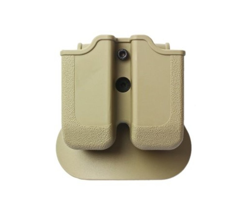 Z2000 Double Magazine Pouch for Glock 17/19/22/23/25 - Coyote Tan