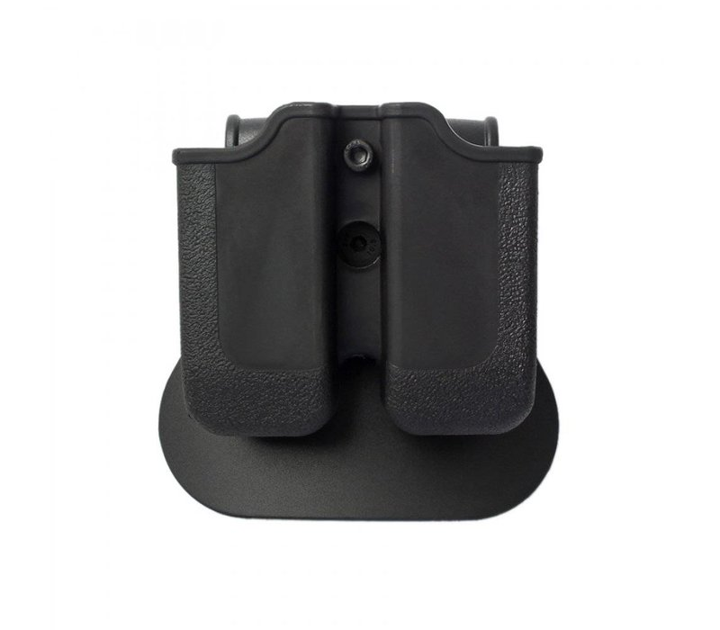 Z2000 Double Magazine Pouch for Glock 17/19/22/23/25 - Black