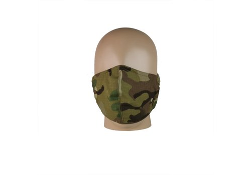 Shadow Tactical Gear Persoonlijk tactisch hygiënemasker (mondkapje ) - BTP (Multicam)