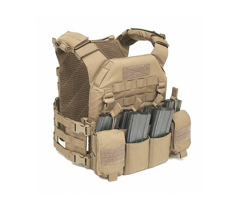 Recon Plate Carrier w Pathfinder Chest Rig - Coyote Tan