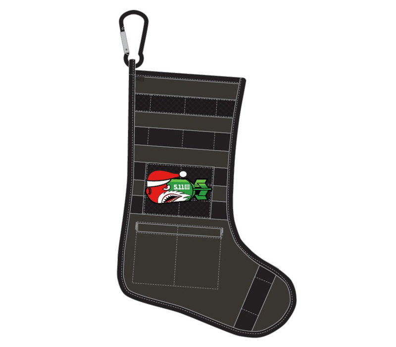 Tactical Holiday Stocking - Saddle Brown